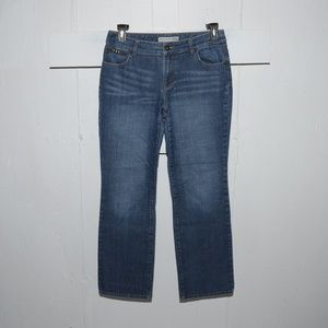 Chico's ultimate fit womens jeans sz 1 x 30.5 4295